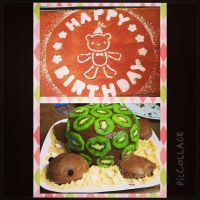 Turtle Cake and Tiramisu Bear by rltan888