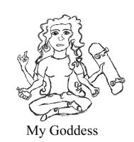 My Goddess by Amphazere