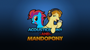 AcoustiMandoBrony branding by SterlingPony