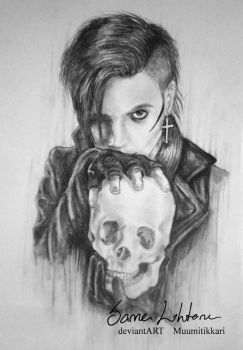 Andy Biersack has a bone to pick with you... by Muumitikkari