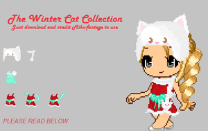 Winter Cat Collection by Miku-Fantage