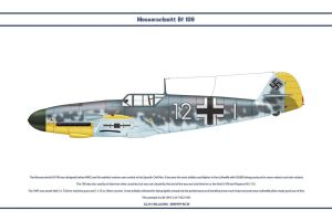 Bf 109 F-2 JG2 2 by WS-Clave