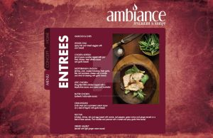 Ambiance Website Entrees by live-without-borders