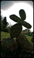 Dancing stones by sculptin