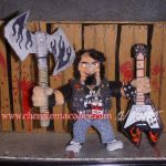 Brutal Legend Eddie Riggs Pipecleaner Figure by the-gil-monster