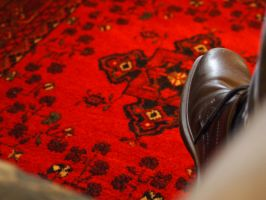 Shoe and Carpet by lightzone