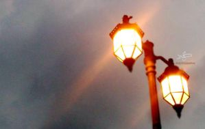 A Lighting column :) by NeverLoseYOurSmile