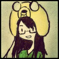 Deviant ID: Me - Adventure Time Style by xXInvaderEmXx