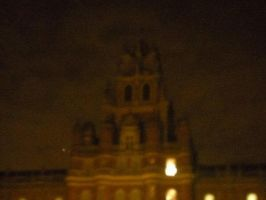 Royal Holloway [at night, zoomed in] by musicjunkie09