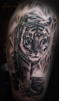Tiger Tattoo by t-o-n-e
