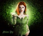 Poison Ivy Cosplay by littlemissromanoff