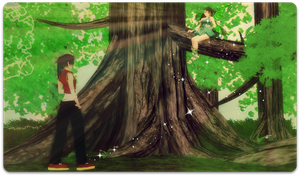 APH: Wondering Into The Woods by thebigblackdevil5