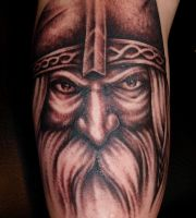 Old Viking by DarkSunTattoo