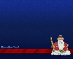 New Year 2011 - Santa by Letyi