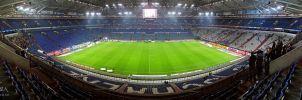 Veltins Arena Gelsenkirchen by Nightline