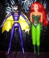 Batgirl Poison Ivy custom doll by TeenTitans4Evr