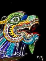 Chinese Dragon of light! by tkguess