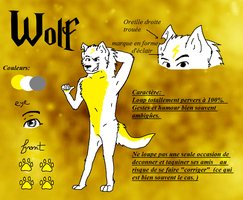 Sara95's characters: Wolf by blaxyd