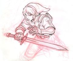 Link from Zelda for BA by KJVallentin