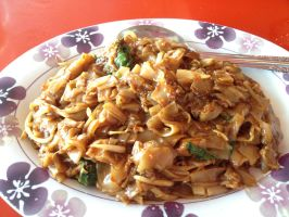 Malaysian Spicy Fried Noodles by nosugarjustanger