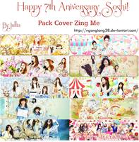 Pack Cover: Happy 7th Aniversary Soshi! by ngangiang38