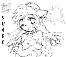 shade sketch with mouse by f-sonic