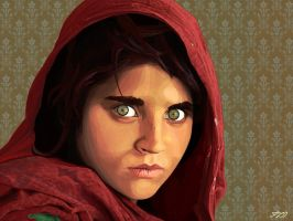 Sharbat Gula by atefel
