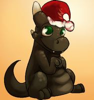 Early Christmas Earth Dragon by Kheltari