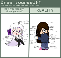Draw Yourself Meme Yoko Version by YokoKinawa