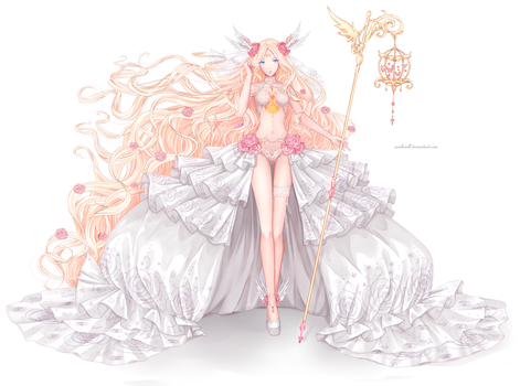 Soft-Shade Commision : Eternelle by ximbixill