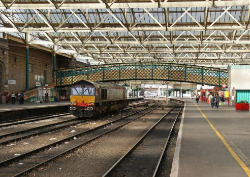 Carlisle Station by irwingcommand