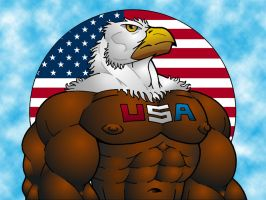 USA Eagle by Jay-Shell