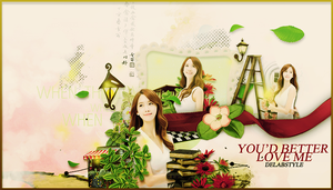 Yoona-WP by DelAbstyle