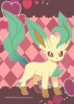 Leafeon Poster by destinal