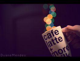 Bokeh Coffee by DuaneME