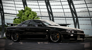 R34 GTR by StrayShadows