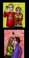 Hetalia Christmas Couples by Destiny-Kaspar