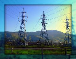 Electric Power Lines by Aivaseda