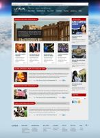 Layman Politics - News and Politics Free PSD Site by ProRock