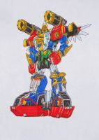 new combination: ZEO MEGA BATTLEZORD. by kishiaku