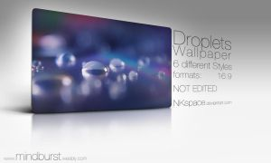 Droplets Wallpaper by NKspace