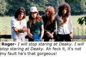 I must stop staring at Deaky by JohntheFishLovesCurt