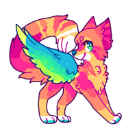 Parrot cat adopt by puqqie
