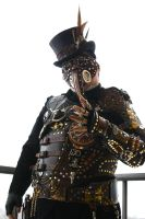 Steampunk Plague Doctor Armor II by Opergeist