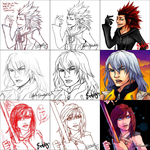 Kingdom Hearts Switcharound Meme by pixelinkdust