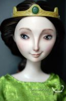 Elinor doll repaint 2 by kamarza