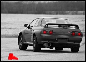 Nissan Skyline GT-R by skywarp