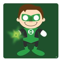green lantern by striffle