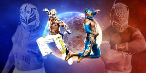 Rey Mysterio and Sin Cara Wallpaper by IGMAN51