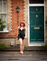 Typical British Summer Town in July by EngagingPortraits